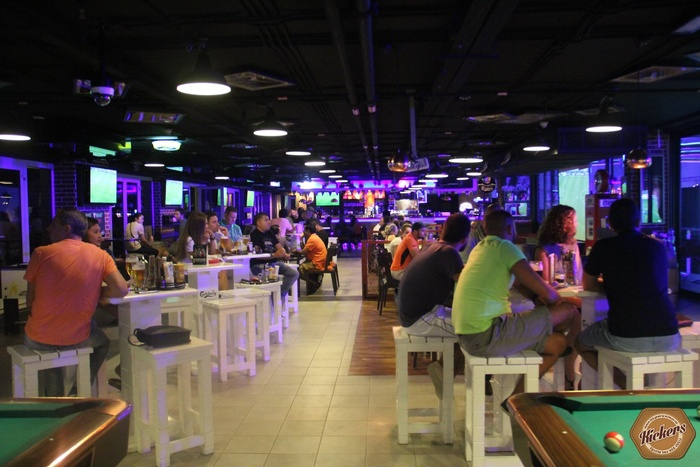 kickers sports bar   bar in dubai