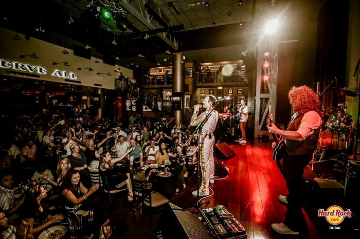 Dubai Hard Rock Cafe Opening