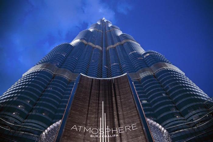 At Mosphere Nightclub In Dubai