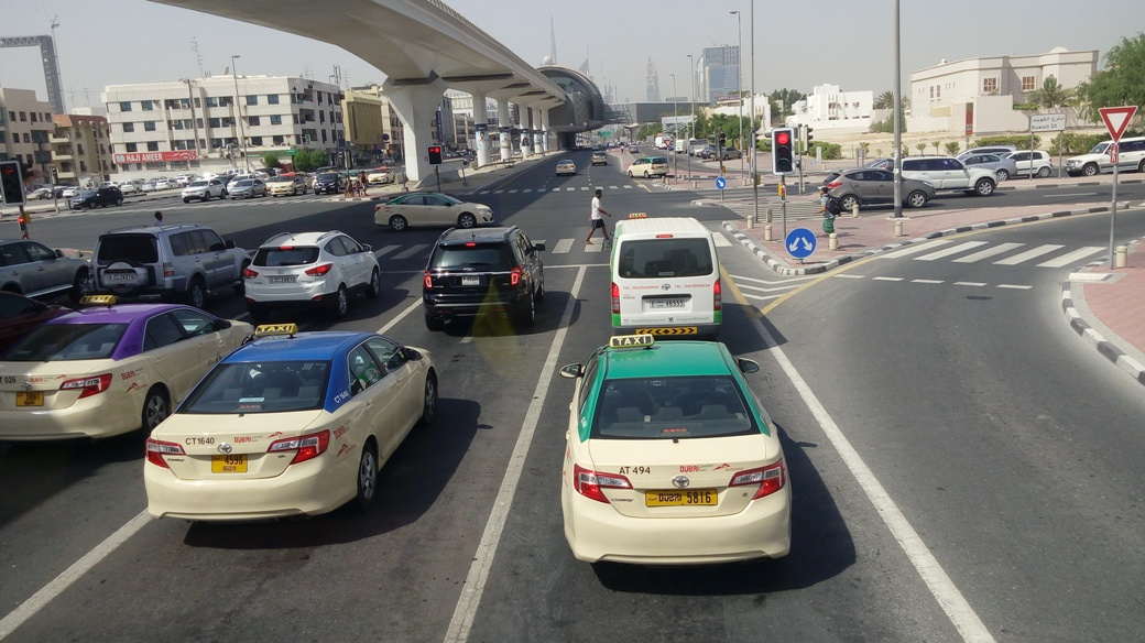 Dubai traffic