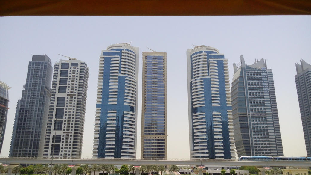 Dubai city buildings
