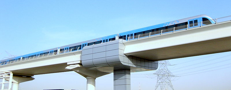 Dubai Metro - GFDL/Producer