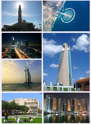 Dubai Montage