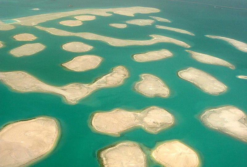 The World Islands – Dubai is a set of artificial islands created by man to