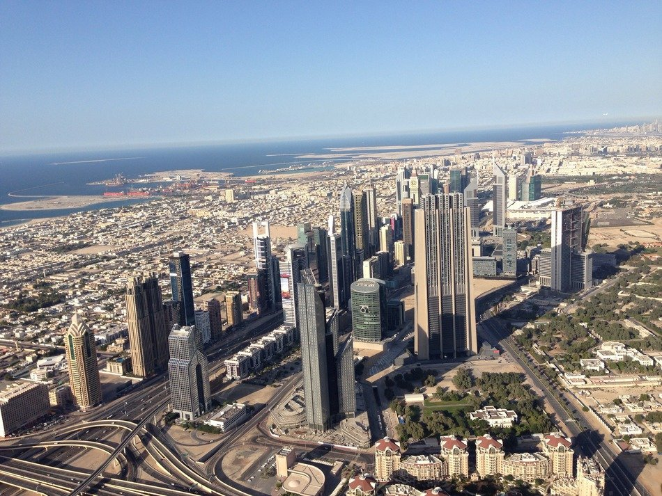 Dubai from top
