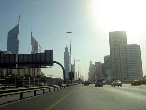 S-zayed-road (Creative Commons/Saudi from Saudi Arabia)