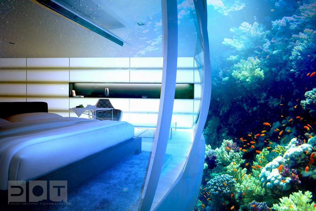Dubai dreams big with 39 water discus 39 hotel dubai blog for Big hotel in dubai
