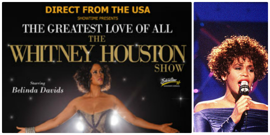 Whitney Houston Collage