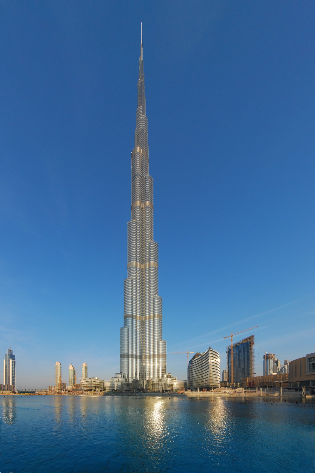 Burj Khalifa, the tallest building in Dubai.