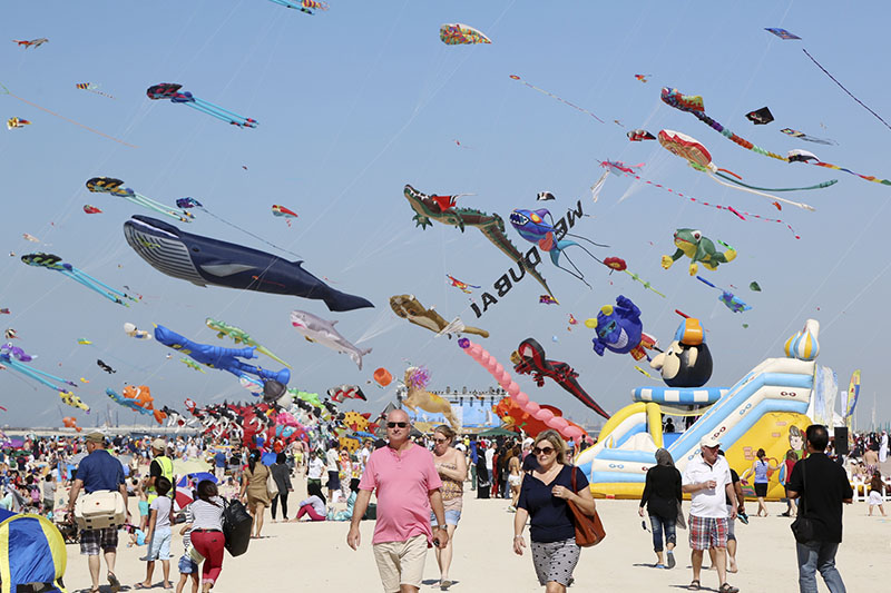 Credit: Dubai International Kite Fest