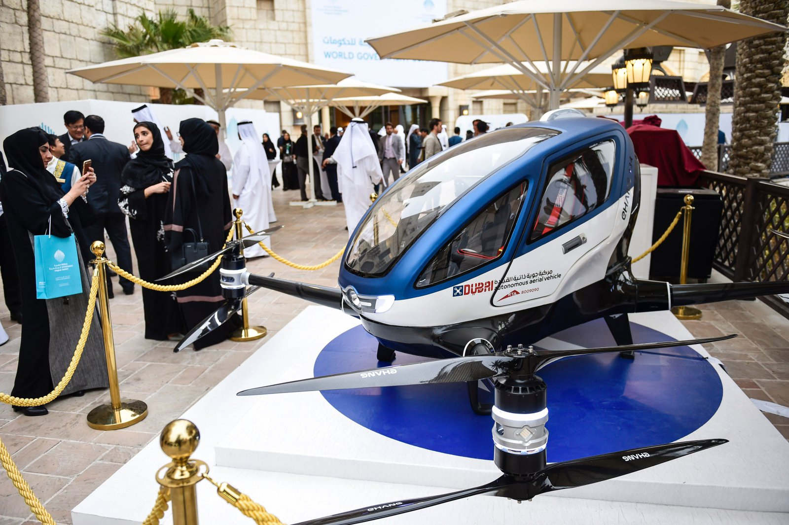 Flying Car For Sale Now >> Dubai to have Flying Drone Taxis - Dubai Blog