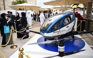 Thumbnail for Dubai to have Flying Drone Taxis