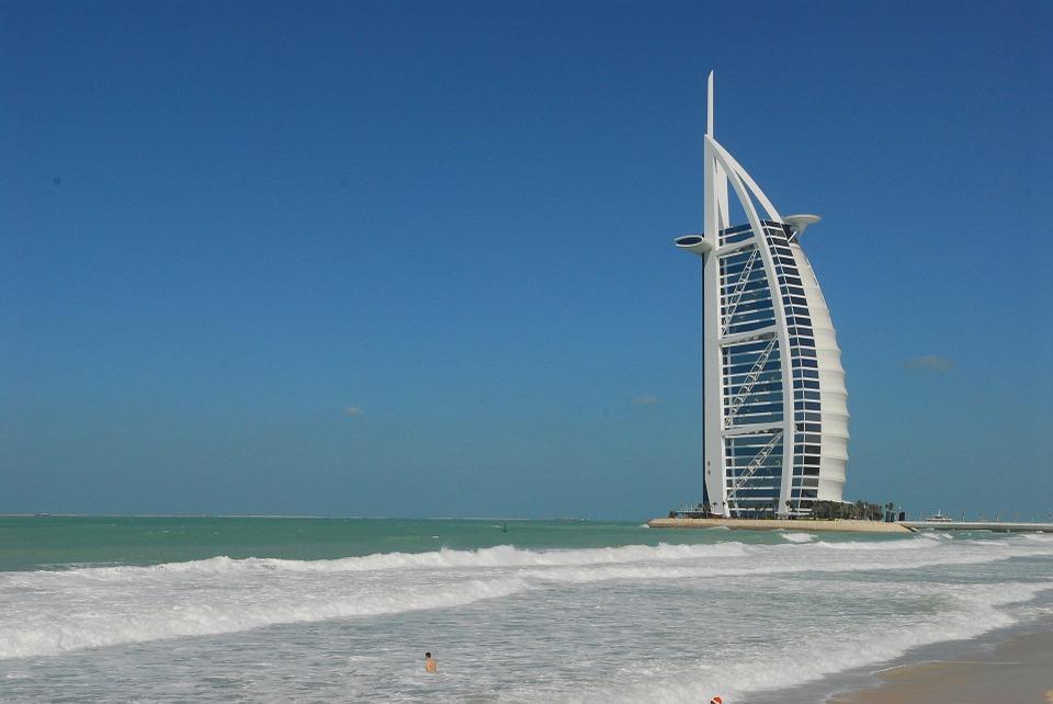 Swim For A Good Cause Around Burj Al Arab Dubai Blog
